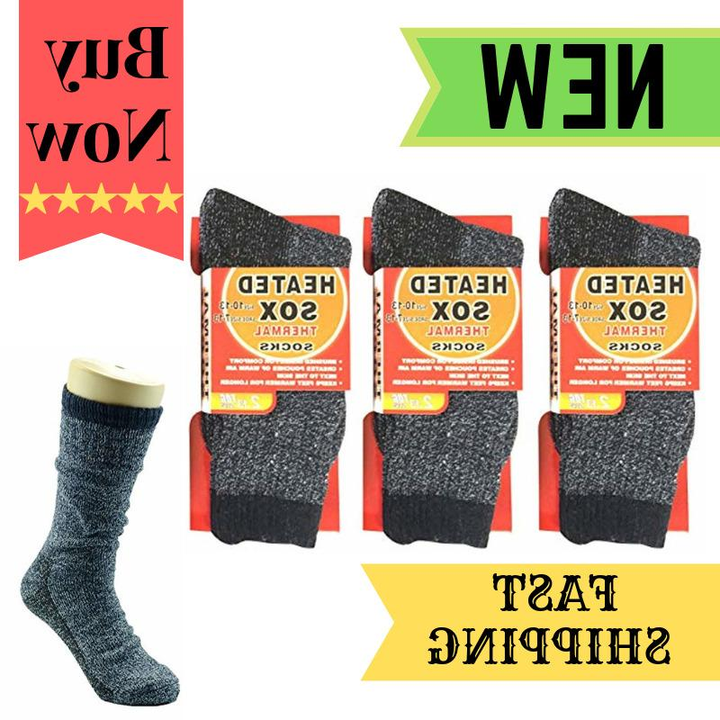 3 pairs thermal socks boot extreme cold