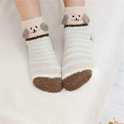 3 Womens Socks Winter Slipper Socks