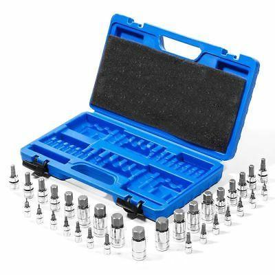 32PC Master Allen Wrench Bit Kit Hex Key For Ratchet Socket