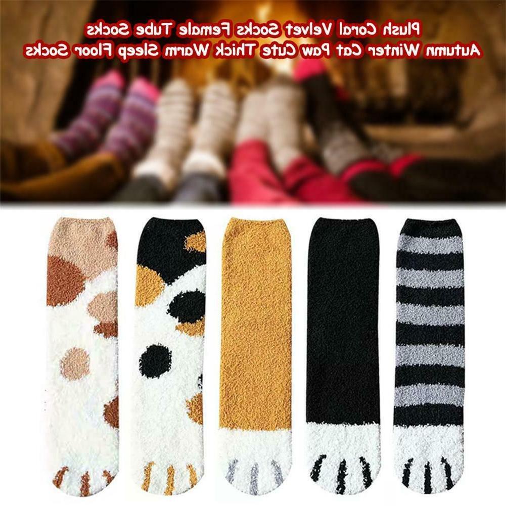 1/3Pair Cat Printed Ankle Sock Gift