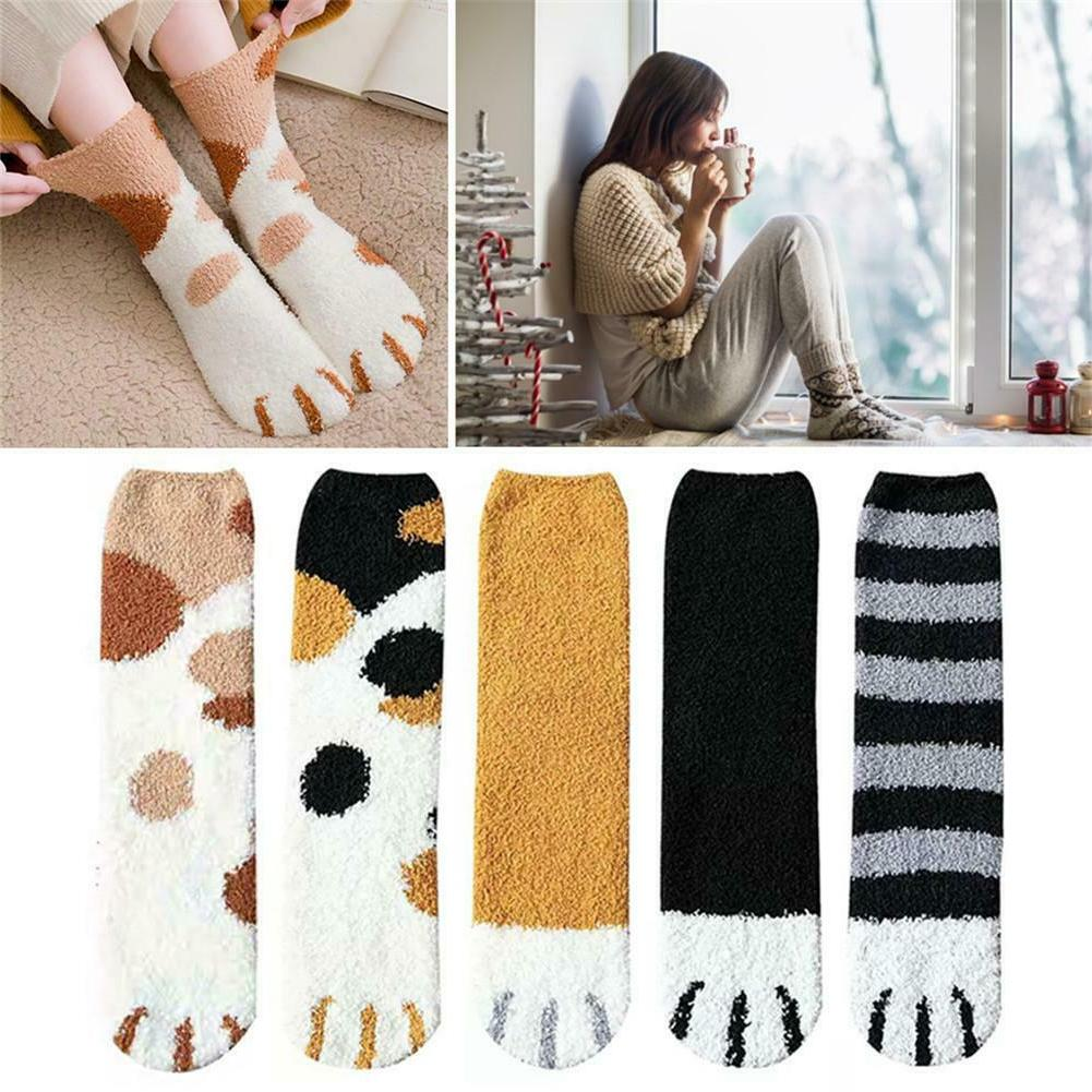 1/3Pair Socks Printed Cartoon Ankle Short Sock Cotton Soft Gift