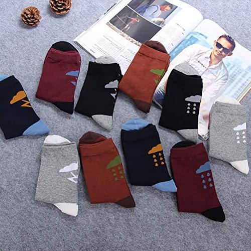 Chalier 4/5 Vintage Style Crew Sock