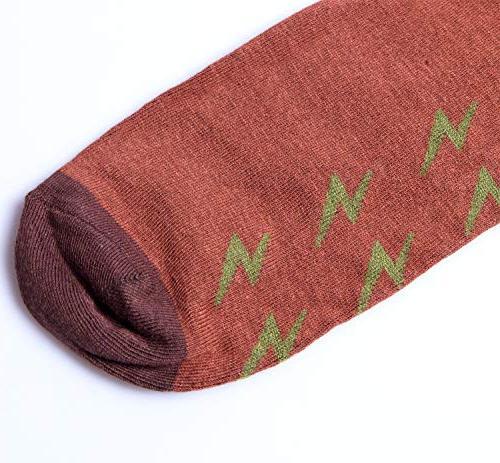Chalier 4/5 Pairs Womens Vintage Style Crew Socks Cute