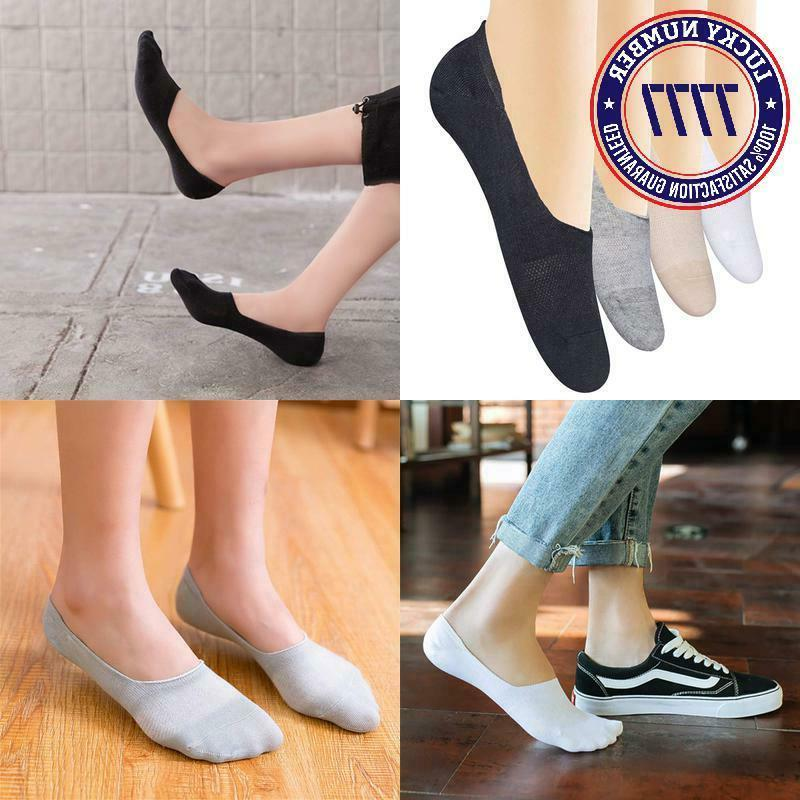 4 8 pairs womens no show socks
