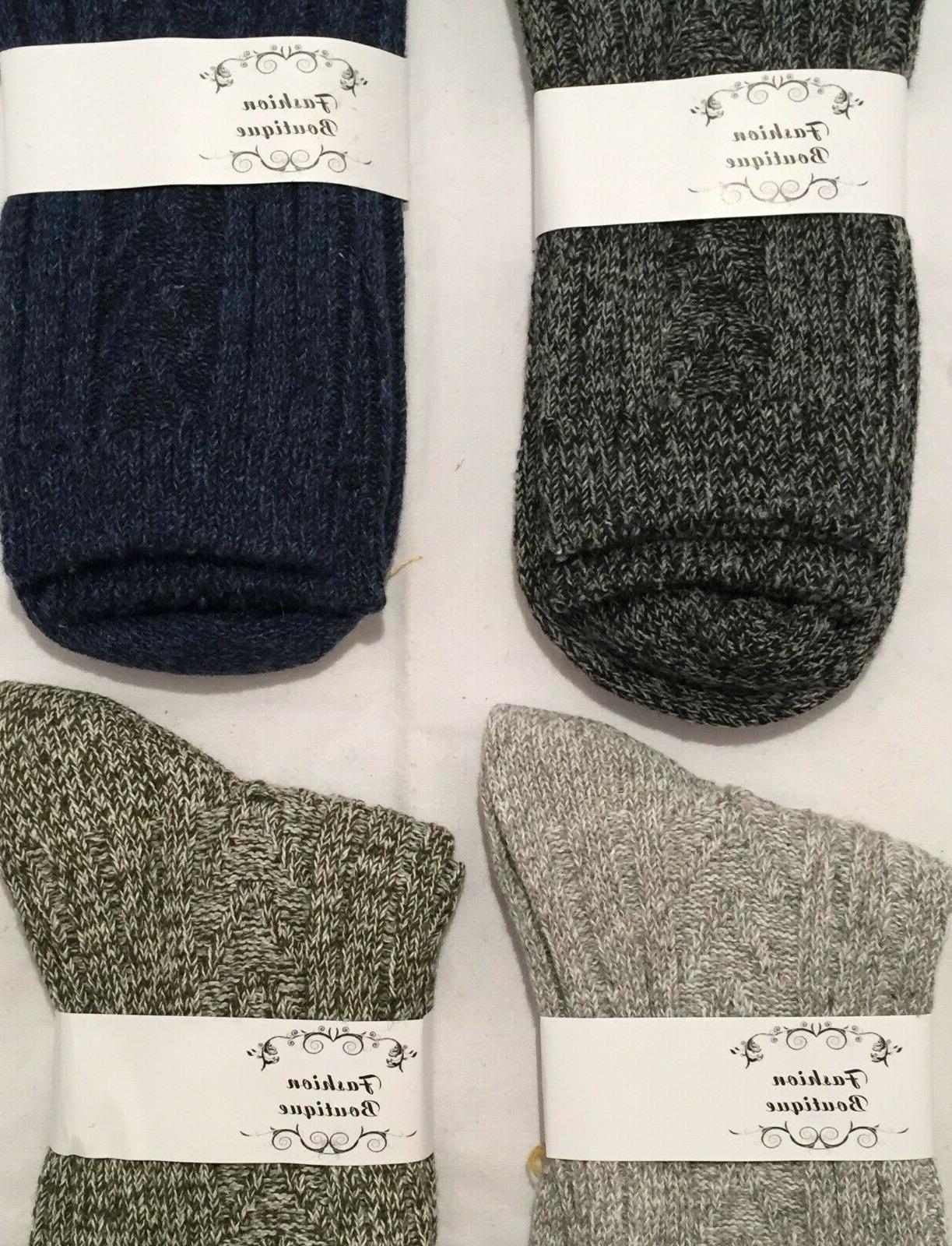 4 Knit Casual Socks