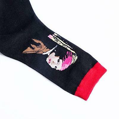 Loritta Pairs Womens Famous Socks Printed Pattern