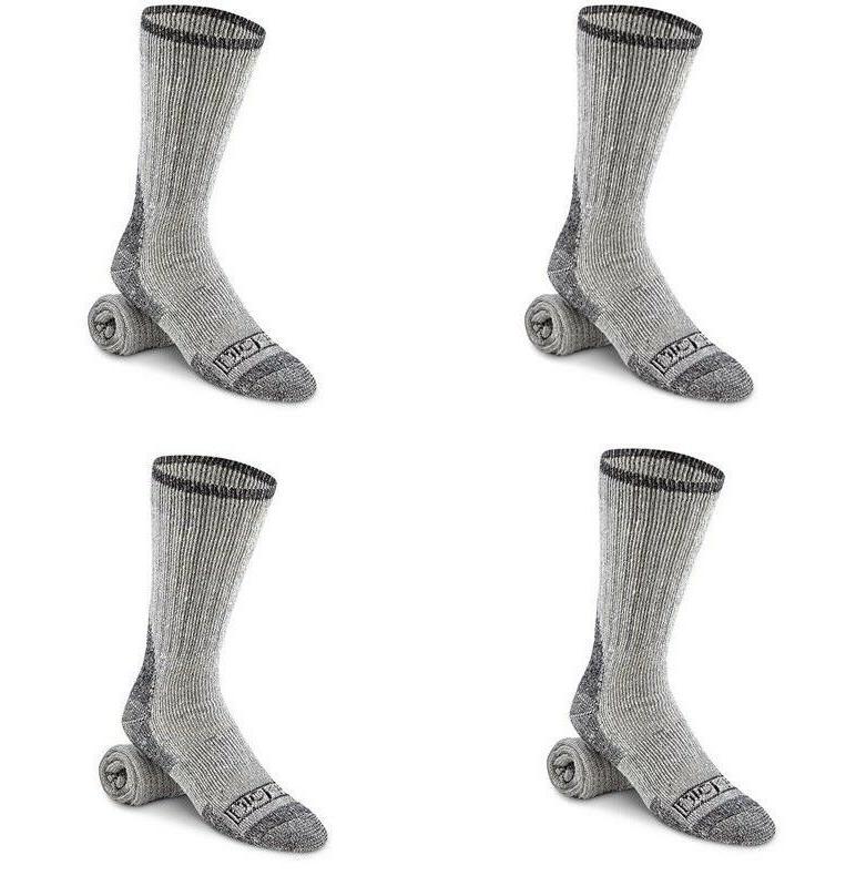 4 wool boot socks work cushion sock