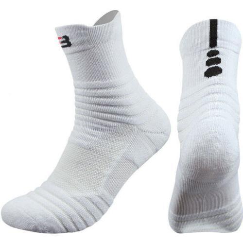 5 Pack Basketball Crew Ankle Socks US