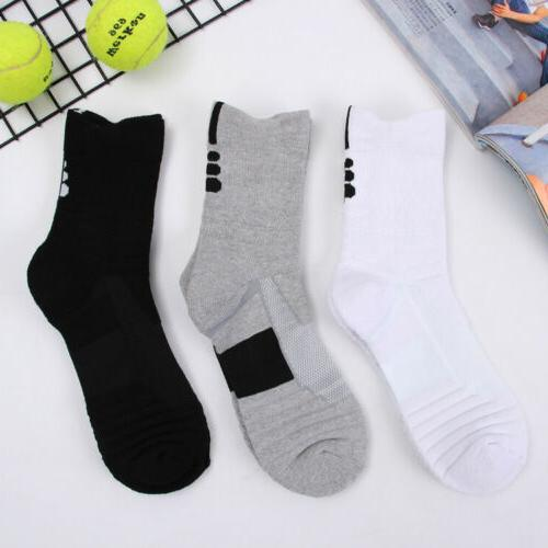 5 Pack Basketball Socks Crew Middle US