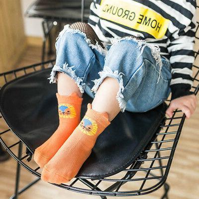 5 Boy Girl Newborn Infant Toddler Soft Sock