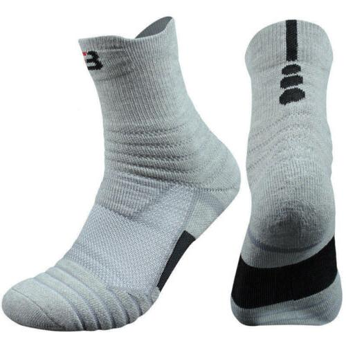 5 Pairs Basketball Socks Athletic US