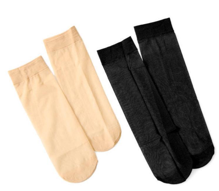 5 pairs women nylon elastic short ankle
