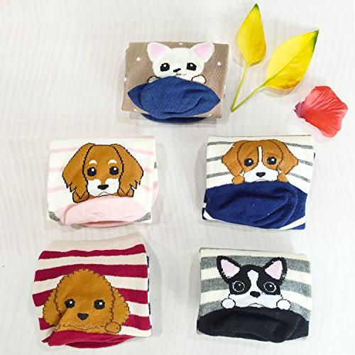 Chalier Pairs Cute Animal Cotton Funny
