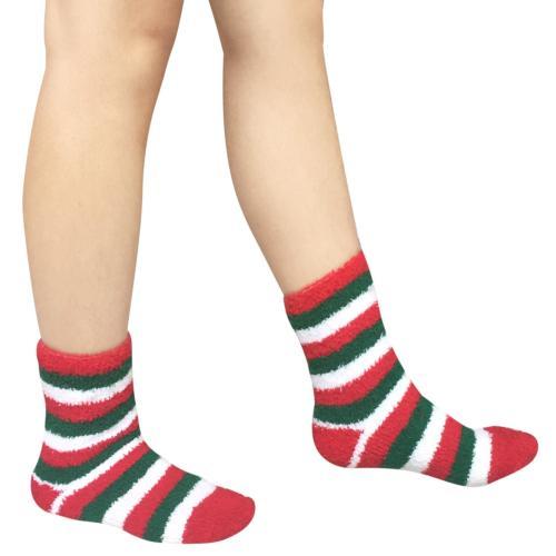 Loritta 5 Fuzzy Christmas Socks Warm Soft Socks