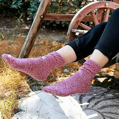 5 Pairs Socks Winter Warm Cozy