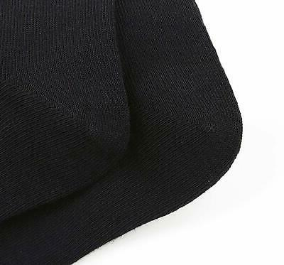 YSense Pairs Black Thin Cotton Ankle LightWeight Crew &...