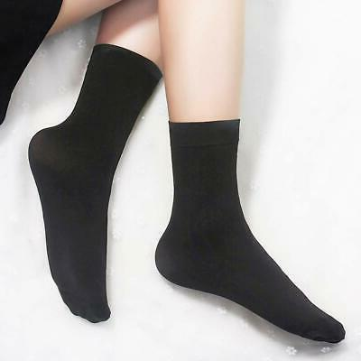 YSense 6-8 Womens Black Thin Cotton Ankle LightWeight &...