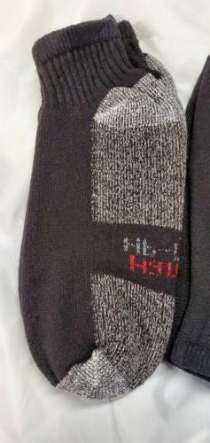 6 Pair Black HP socks. Size 7-9. Seconds.