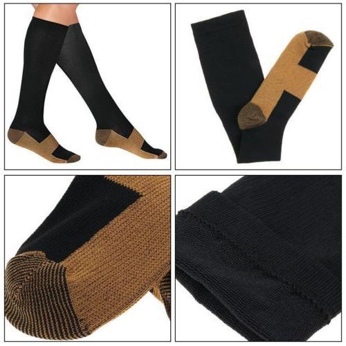 Compression Socks 20-30mmHg Support Womens S-XXL