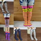 7 colors kids girls multi color striped