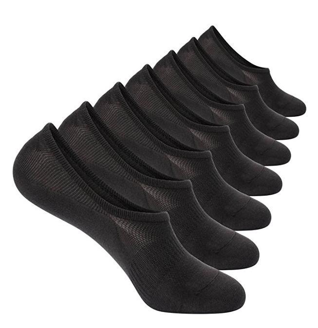 7 pack no show socks cotton thin