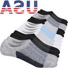 7 Pairs Mens/Womens Low Cut No Show Mesh Knit Breathable Non