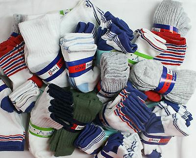 BABY BOY SOCKS Size 6-12 MONTHS Lot 12 Pairs Newborn Infant