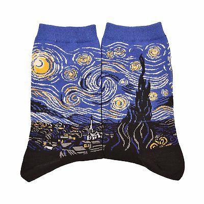 WeciBor Men's Gogh Dress Colorful Cotton