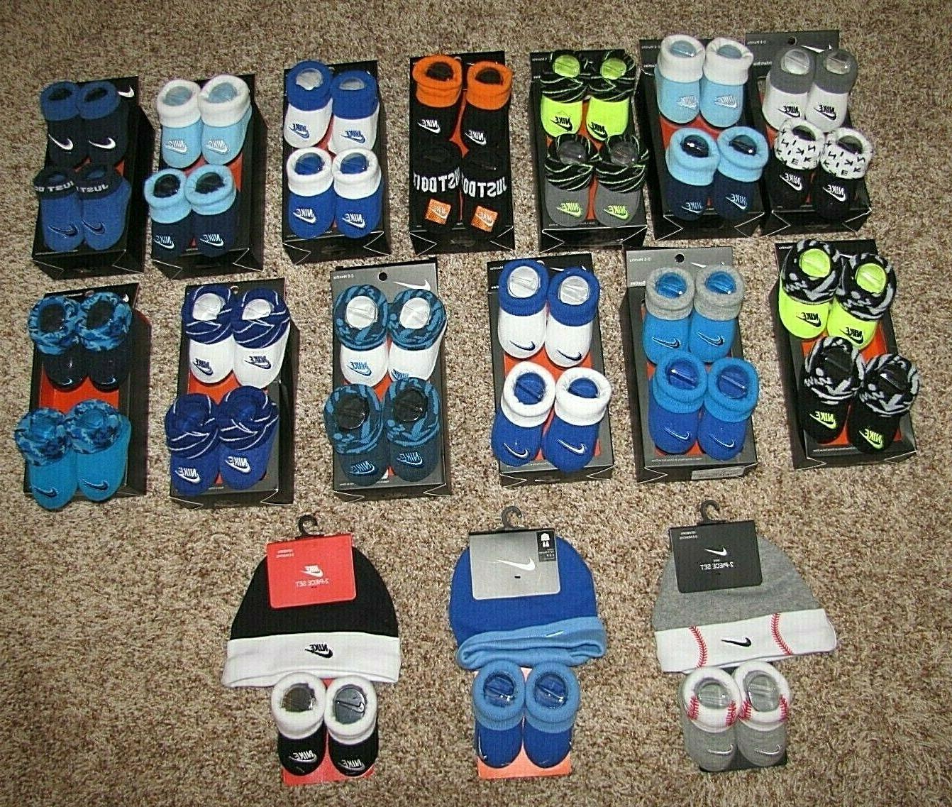Nike Air Jordan Infant Boys Girls 0-6 Months Baby Booties Bl