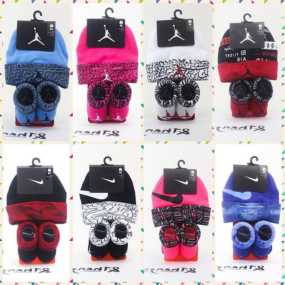 Nike Air Jordan Jumpman Baby Infant Newborn Booties Socks an