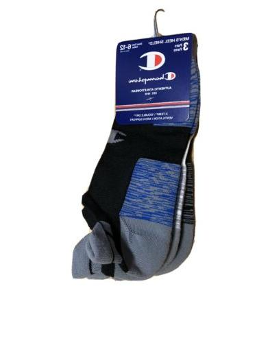 Champion Ankle Mens No Show Double Tab Athletic