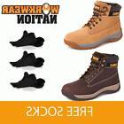 Dewalt Apprentice Leather Safety Work Boot WHEAT / BROWN FRE