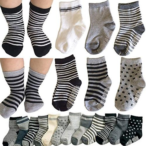 assorted non skid ankle cotton