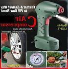 Auto Car Handheld Portable Air Compressor Tire Inflator Pump