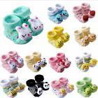 Baby Girl Boy Anti-slip Cotton Socks Cartoon Newborn Slipper