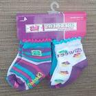 Baby Girl Set of Socks Skechers Size 0 to 12 Month 4 Pairs N