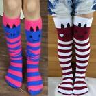 Baby Girl Striped Thigh High Long Over Knee Cat Stripe Print