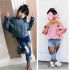Baby Kid Girls Socks Black Fishnet Elastic Thigh High Stocki