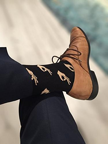 Balanced Co. Meme Dress Socks Crazy Cotton