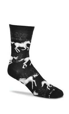 For Bare Feet Novelty Medium Socks - Choose your Style