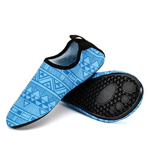 ALEADER Unisex Beach Water Shoes Quick Drying Summer Outdoor for Swim Surf Yoga