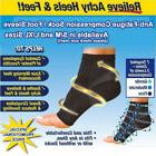 Best PLANTAR FASCIITIS Sock Foot Pain Compression Sleeve Hee
