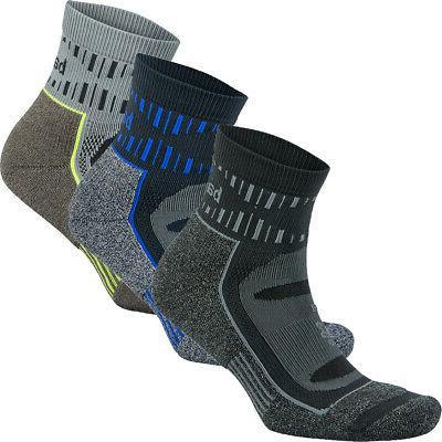 blister resist quarter length running socks