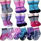 BSLINO Assorted 6 Pairs 12-24 Months Baby Girl Toddler Socks