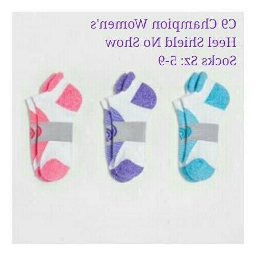C9 Champion Women's No-Show Athletic Heel Shield Socks 11pk,