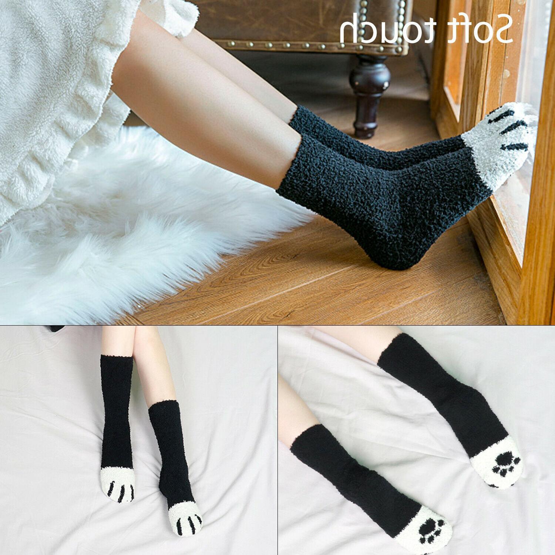 Cat Claw Socks Cute Sleep Ankle Home Girl