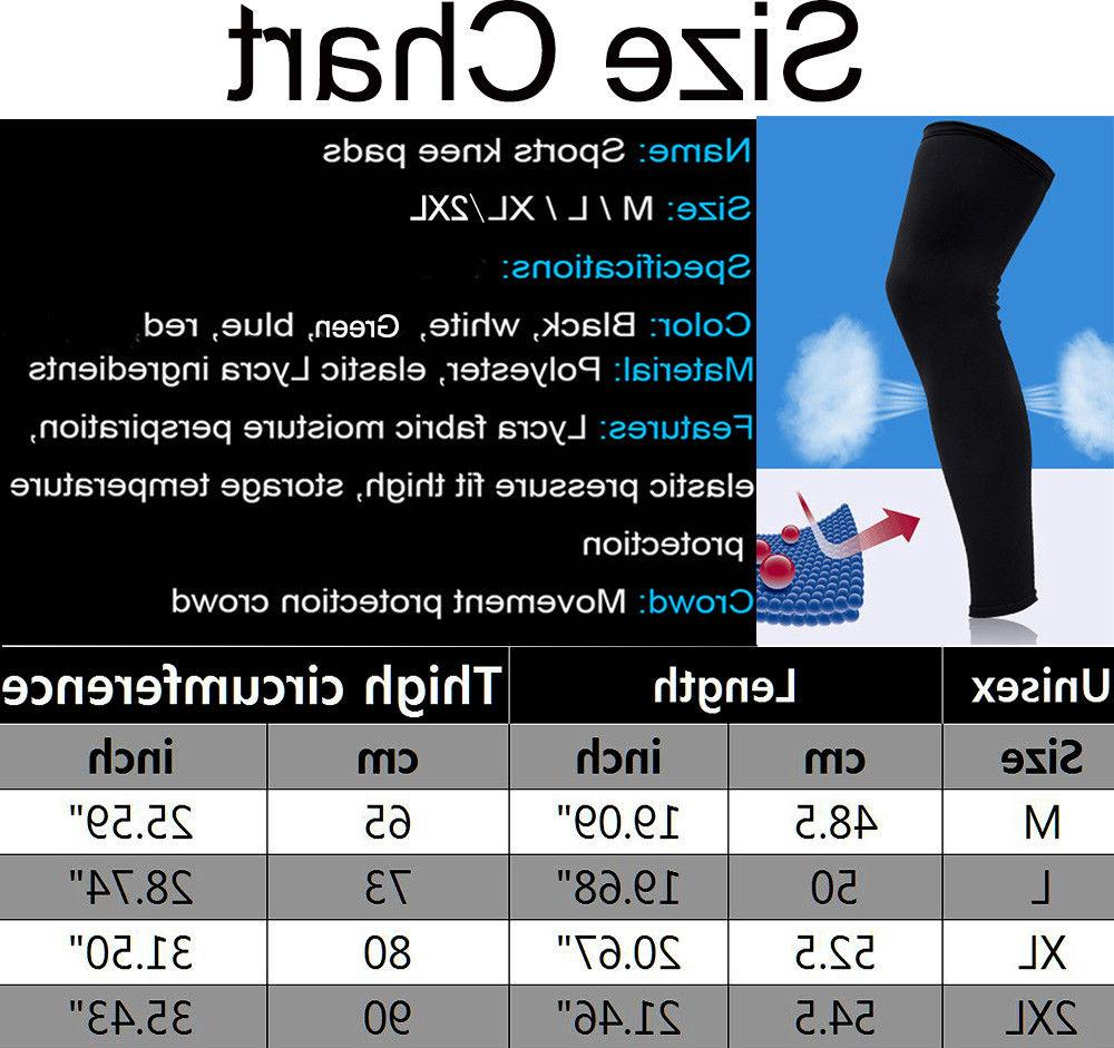 Compression Socks Knee Support Leg Sleeve For USA