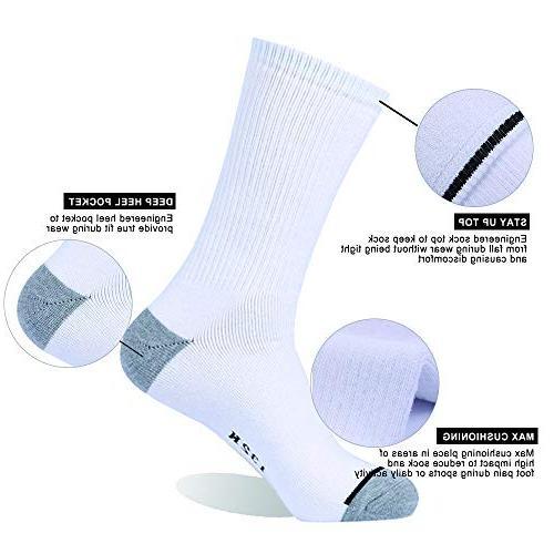 Enerwear 10P Pack Cotton Heavy Cushion Socks