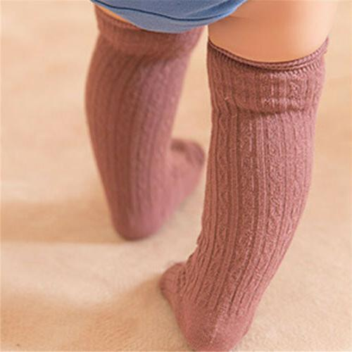 Cute Toddler Baby Knee High Winter Stockings