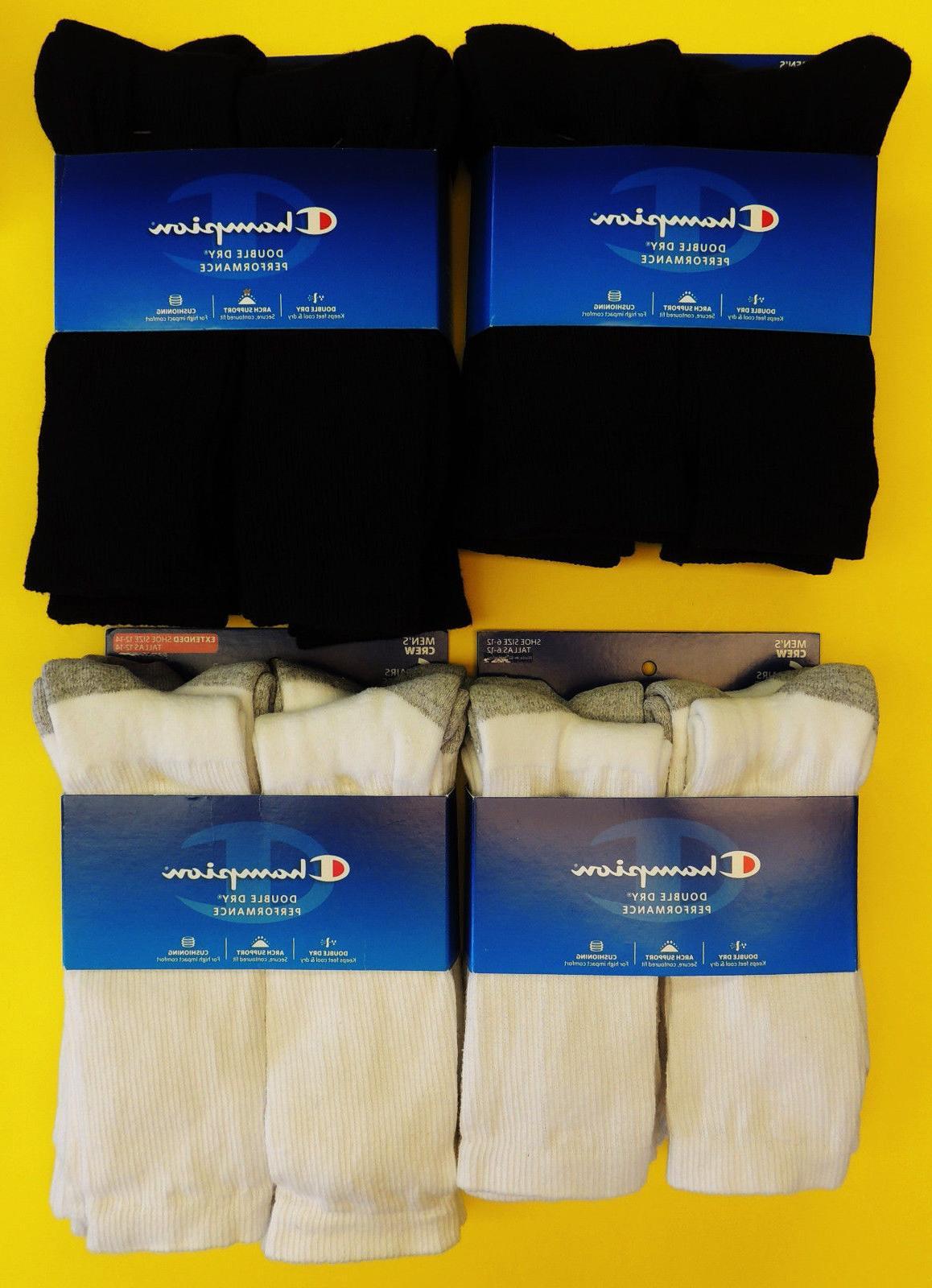 double dry performance men s crew socks